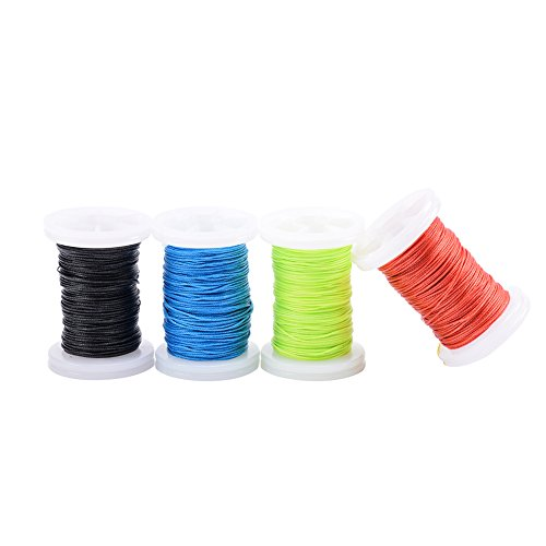 Ww Zat Archery Bow String Serving Thread Wear-Resistant Material 98.5 Foot spools (30 Meter/Roll) 0.018