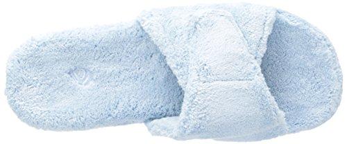 6 W US II 7 Slide Spa Medium 5 Slipper ACORN Powder Womens Blue 5 7q8pxw7SFn