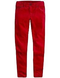 Girls' Super Skinny Fit Velvet Jeans