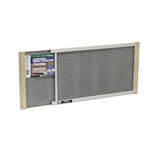 Expandable Window Screen - Frost King Ventilators with Screens, 10