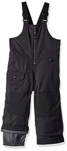 Burton Boys Minishred Maven Bib Pants, True Black, 2T by Burton