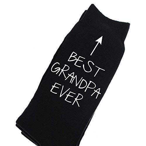 Calcetines El cumplea Regalo Hombres mejor negro eterno Becerro abuelo de de D os Navidad aqxXr8qw