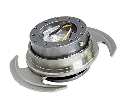 NRG SRK-650GM Gen 3.0 Steering Wheel Quick Release Kit - (Gun Metal)