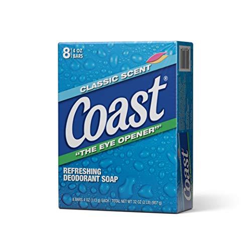 Coast 8-Bar Soap Classic Scent/Original 4 Ounce