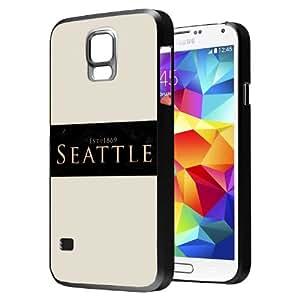 Seattle - Samsung Galaxy S5 Glossy Black Case