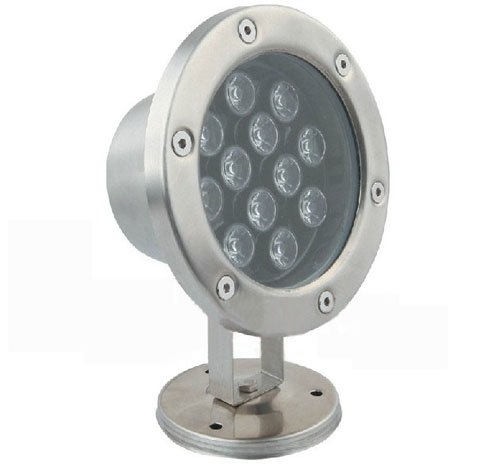 LUMINTURS 12W LED Outdoor Exterior Flood Underwater Light Indoor Corners Spot Lamp Fixture Waterproof IP67 12V by Luminturs