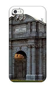 MarvinDGarcia Iphone 5/5s Well-designed Hard Case Cover Puerta De Alcal?? Protector 1131531K52556271