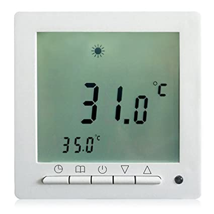 Kraus Tech® Digital Termostato programable regulador de temperatura con LED Screen Alpha-C –