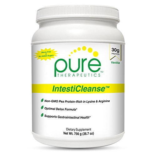 "IntestiCleanse ""Vanilla"" - 30g of Pure Vegan Protein, a N..."