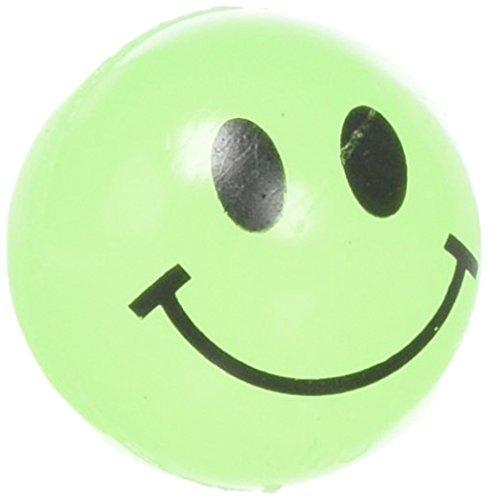 Rhode Island Novelty Glow In The Dark Smile Face Balls (144 pc) -