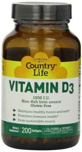 Pays vie vitamine D3 1000IU