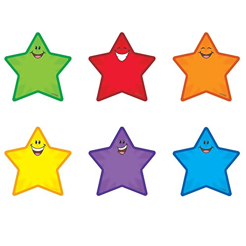 - TREND enterprises, Inc. T-10801BN Stars Mini Accents Variety Pack, 36 Per Pack, 6 Packs