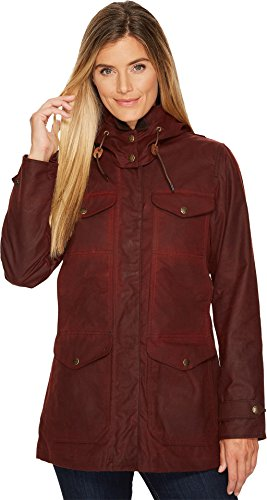 Filson Women's Moorcroft Jacket Burgundy Large