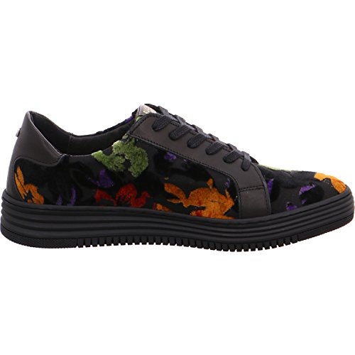 Women's 420029e5t Flats BULLBOXER Black Up Lace fqBPvPdR