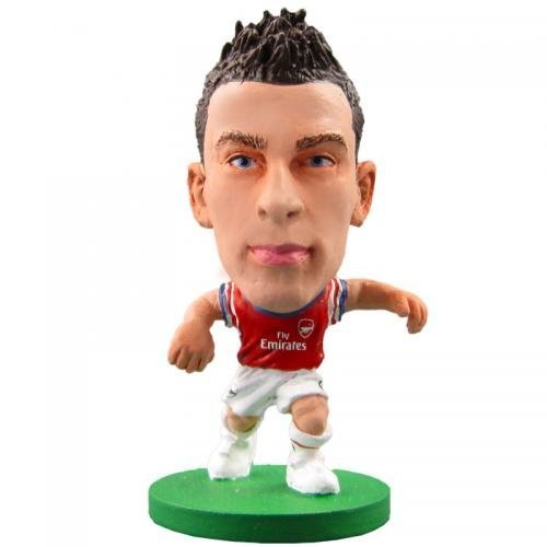 Arsenal F.C. Soccerstarz Koscielny- Laurent Koscielny- Soccerstarz Figure- 2 Inches Tall- With Collectors Card- In Blister Pack- Official Football Merchandise by Arsenal F.C.