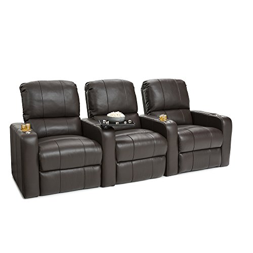 41TB%2BVYVB0L - SEATCRAFT-Millenia-Home-Theater-Seating-Power-Recline-Leather-Row-of-3-Brown