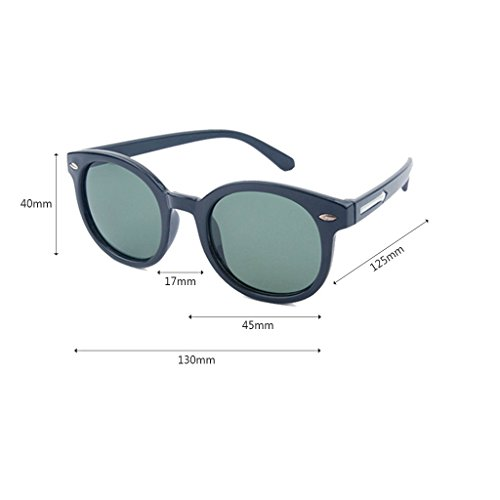 Sol de Black Lens Sol Black Gafas Childrens Color Unisex Style Gafas de Shades Gafas Pink Clásicas Arrow UV400 wO76Uq