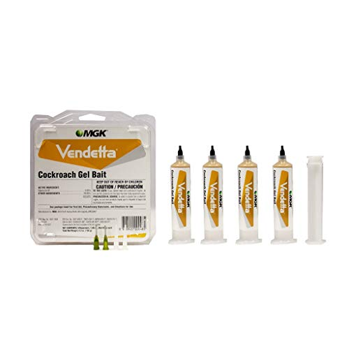 Vendetta Roach Gel Bait Insecticide - 4 tubes x 30gms MGK1003