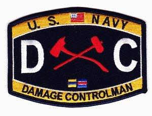 Amazon.com: US Navy Damage Controlman DC Patch: Automotive