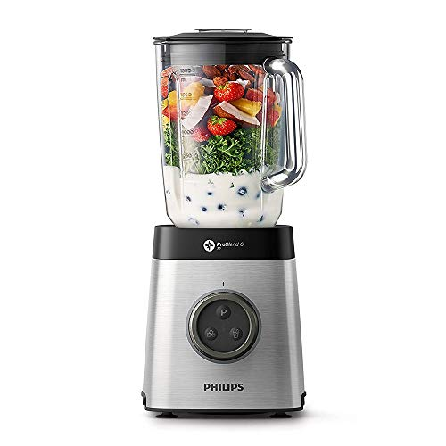 Philips HR3652/01 Blender with ProBlend Technology, Other, 1400 W, Silver