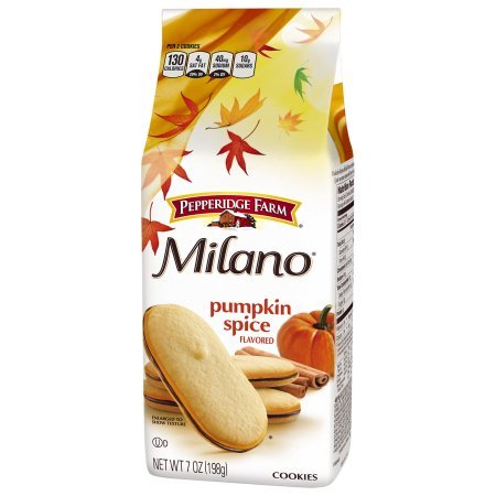 Pepperidge Farm Milano Cookies Seasonal Pumpkin Spice Cookie 7oz by Pepperidge Farm
