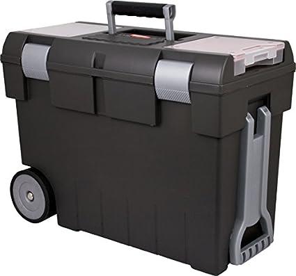 Papelera carro de herramientas con herramientas maleta con ruedas maletín de herramientas con ruedas