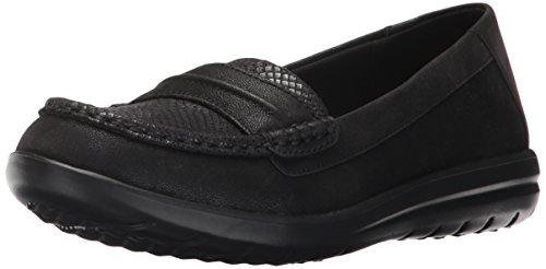 Womens Jocolin CLARKS CLARKS Maye Black Synthetic Flat Womens EqPnp