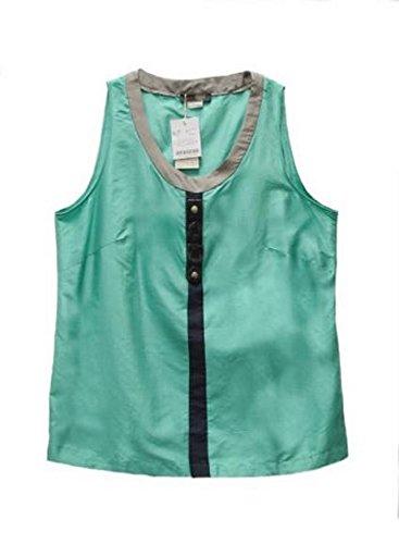 marina-rinaldi-teal-shantung-silk-scrivi-embellished-top-sz-24-160182mm