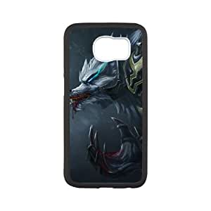 Samsung Galaxy S6 Cell Phone Case White League of Legends Tundra Hunter Warwick QH1836919