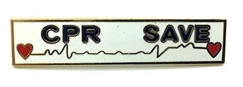 Award Bar (Citation Bar- CPR Save Citation Bar Award Pin - Police, Fire and EMS)