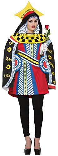Queen of Hearts Playing Card Adult (Queen Of Hearts Costume Halloween)