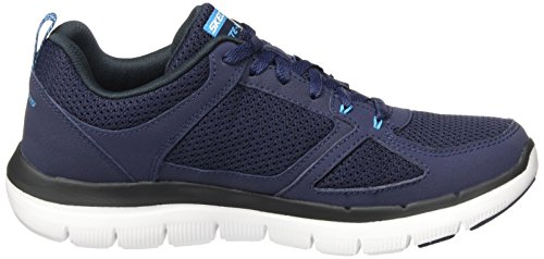 Skechers Flex Advantage 2.0, Scarpe Sportive Outdoor Uomo Blu (Nvbl)