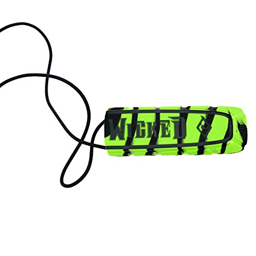 Wicked Sports Exalt Bayonet Barrel Cover - Lime / Black Swirl w/Black Text - Universal Paintball Tank Cover