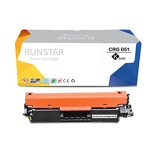Run Star Compatible Toner Cartridge Replacement Canon CRG 051 CRG-051 High  Yields Work Canon Image Class LBP162dw, 1 Black