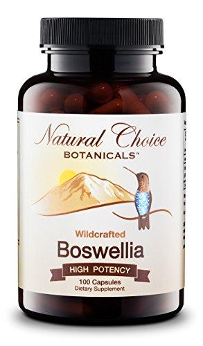 Wildcrafted Boswellia Serrata Boswellic Supplement