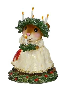 Wee Forest Folk Christmas Santa Lucia M-449