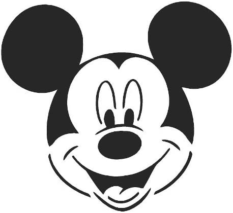Wall Art MICKEY MOUSE Airbrush Paint Stencil Genuine Mylar Re-Useable 125 micron by cfsupplies
