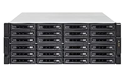 QNAP Network Attached Storage TVS-EC2480U-SAS-RP-16G-R2 24Bay Xeon E3-1246v3 16GB DDR3 SATA Retail