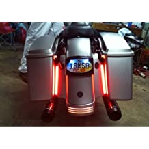 Universal Trunk Cargo High Back Motorcycle Car Trailer Third Brake Running Light