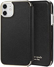 kate spade new york Black Folio Case for iPhone 11 - ID & Card Ho