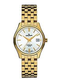 Grovana Women's 5568-1112 Traditional Analog Display Swiss Quartz Gold Watch