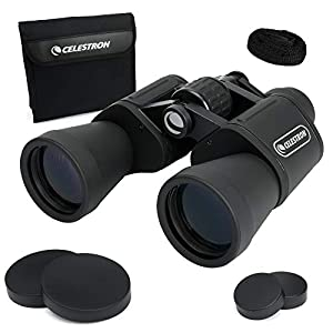 Celestron – UpClose G2 10×50 Porro Binoculars with Multi-Coated BK-7 Prism Glass – Water-Resistant Binoculars with…