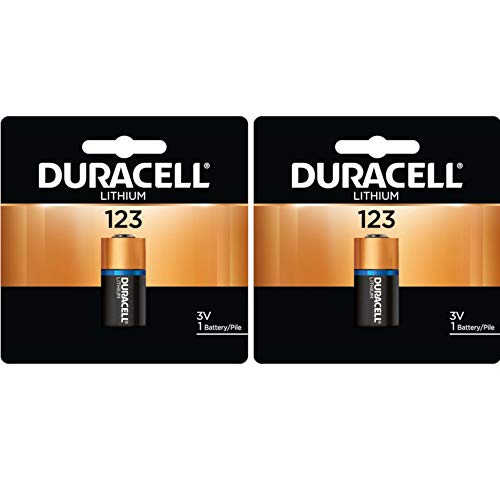 (Duracell DL123ABU 3V Ultra Lithium Battery (Value Pack of 2))