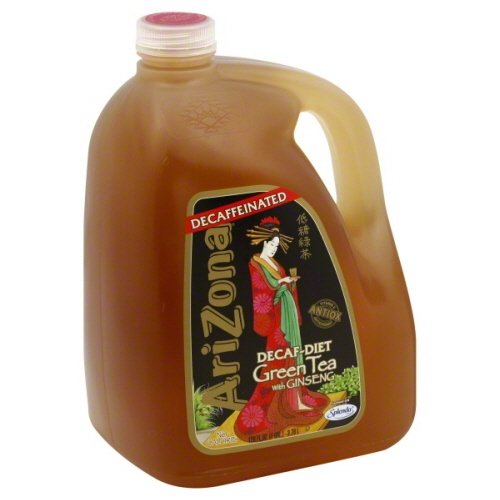 (Arizona Tea, 128 Fl. Oz (Pack of 2) (Green Tea Diet with Ginseng- Decaf))