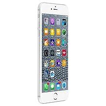 Apple iPhone 6s Plus 128 GB International Warranty Unlocked Cellphone - Retail Packaging (Silver)