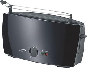 Siemens TT60103 Langschlitz-Toaster executive edition schwarz / dunkelgrau