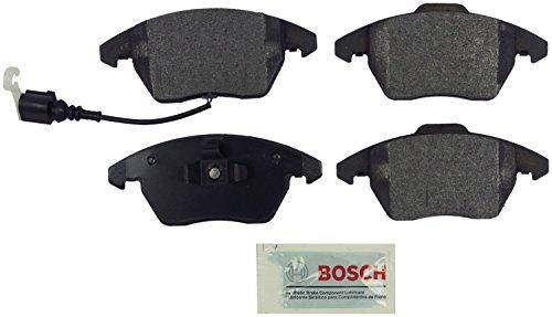 Bosch BE1107 Blue Disc Brake Pad Set for Select Audi A3, A3 Quattro, TT; Volkswagen Eos, Golf, GTI, Jetta, Passat, Rabbit - FRONT