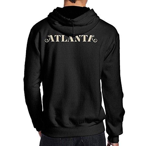 Lightweight 80's Juniors Man AtlantaFX XX-Large Hooded - Map Mall Seasons Four