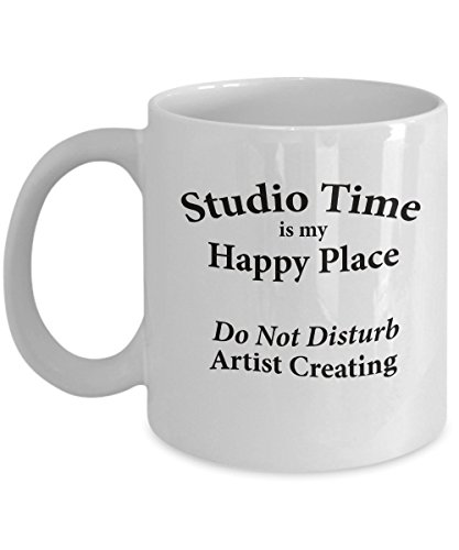Studio Time is an Artist's Happy Place - Do Not Disturb Artist Creating