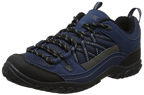 Regatta Herren Edgepoint II Trekking-& Wanderhalbschuhe Blau (Dkden/Charco 2L8)